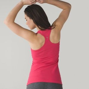 Lululemon Cool Racerback Tank Top Red Pink